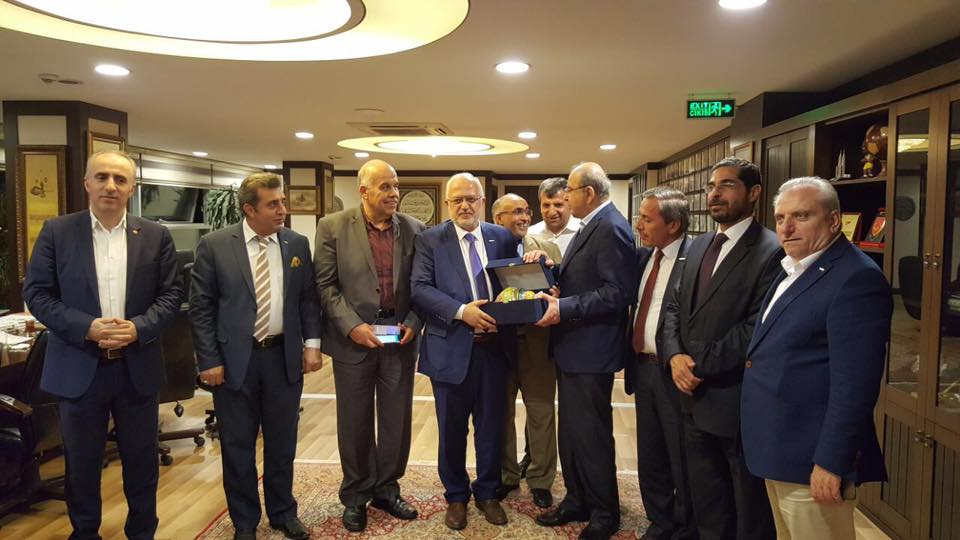 زيارة رئيس مجلس الأعيان ورئيس وزراء المملكة الأردنية الهاشمية السابق السيد طاهر المصري لجمعية يني آد.